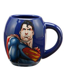 Take a look at this Blue Superman Oval Mug by DC Comics on #zulily today!