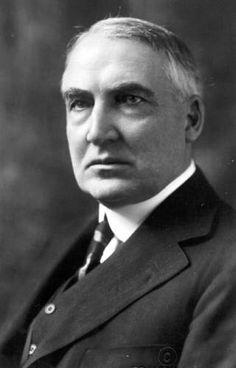 President Warren G. Harding, born 1865 in Ohio