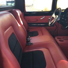 Post by interiors auto addiction com custom car interior upholstery most beautiful truck accessories ideas decorating . Ford Interior, Custom Car Interior, Truck Interior, Custom Trucks, Custom Cars, Classic Trucks, Classic Cars, Car Interior Upholstery, 1956 Ford Truck