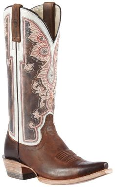 Ariat Alameda Vintage Cowgirl Boots - Snip Toe available at #Sheplers