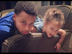 5a5656a53fbd Stephen Curry Funny Moments with his daughter Riley Curry Ryan Curry
