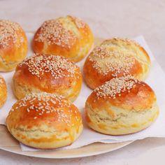 Pehelykönnyű krumplis pogácsa Hamburger, Brot, Burgers