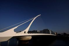 Santiago Calatrava is an architect,structural engineer, and sculptor from Valencia, Spain. He is responsible for many landmark buildings an. Samuel Beckett Bridge, Santiago Calatrava, Valencia, Spain, Architecture, Building, Travel, Image, Structural Engineer