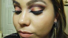 Golden Peach featuring BH Cosmetics