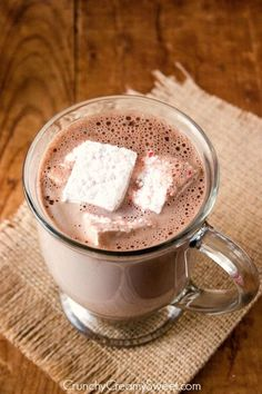 Homemade Hot Chocolate mix and the Blendtec Blender Review