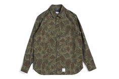 Denim Hunter Camo Shirt