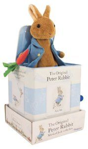 jack in the box Beatrix Potter Peter Rabbit nursery.
