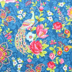 Discover the Pip Studio Flowers in the Mix Wallpaper - 313054 Dark Blue at Amara