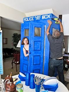 Dr.Who party... possibly the best party ever