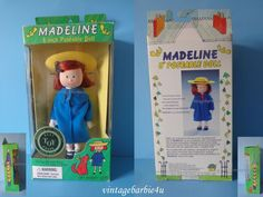 """NEW 1996 Eden Gift Madeline 8"""" Poseable Doll Best Toy Award Gold Seal Mint MIB #Eden #DollswithClothingAccessories"""