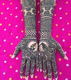 Bridal Mehendi Designs - The Raja And Rani