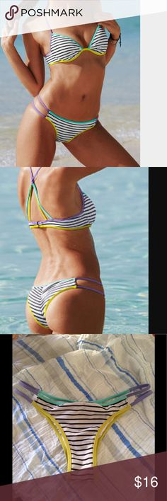 "Victoria's Secret ""The Itsy"" bikini bottoms Victoria's Secret ""The Itsy"" bikini bottoms S. Victoria's Secret Swim Bikinis"