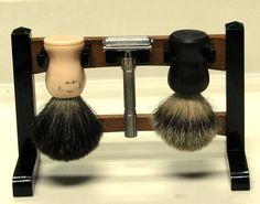 Shaving Stand Shaving Stand, Shaving Brush, Wet Shaving, Guy Stuff, Wood Ideas, Beauty, Google, Image, Shaving