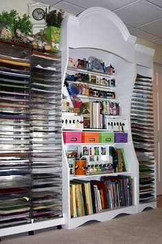 craft room storage to dream of...