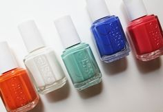 Essie Nail Polish In Turquoise Caicos Green Butler Please Blue