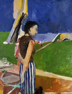 Richard Diebenkorn at Royal Academy of Arts. art, artwork, paintings