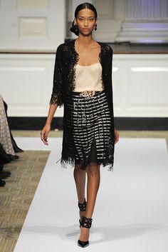 Oscar de la Renta Pre-Fall 2012 Fashion Show - Anais Mali