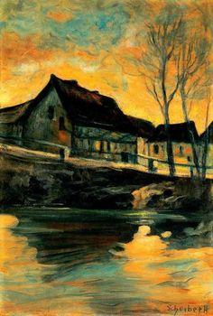Hugo Scheiber,Nightlights (1910s)