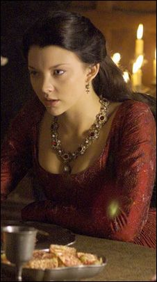 Anne Boleyn. Love this hair style and color. :)