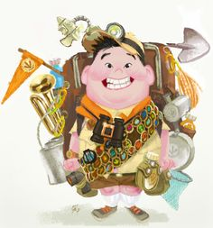Pixar. 25 Years of Animation. See more here: http://blog.dtoday.de/neonroehren/2012/10/ausstellung-pixar-25-years-of-animation-in-bonn/