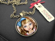 Antique Inspired Pendants by Akina on Etsy, $35.00