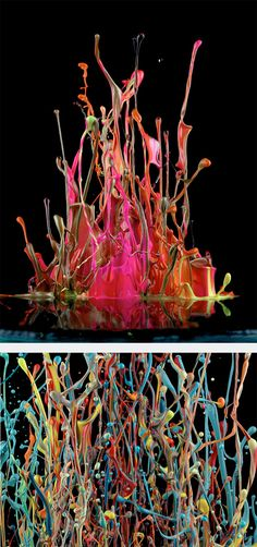Painting With Sound by Martin Klimas | Inspiration Grid | Design Inspiration