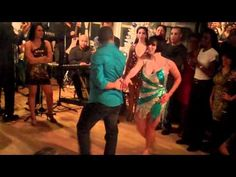 Melanie Torres and Gabriel Perez dancing Salsa at the Dance on 2 Holiday Social: 12/17/10 - YouTube