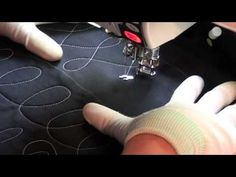Quilt Along #4 - Quilting on a Line - YouTube