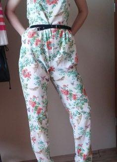 Kup mój przedmiot na #vintedpl http://www.vinted.pl/damska-odziez/inne-ubrania/13626405-jumpsuit-38-m-floral-kwiaty-piekny