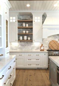 Modern Farmhouse Kitchen Cabinet Ideas (47)