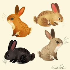 Rabbit Illustration, Cute Animal Illustration, Character Illustration, Watercolor Illustration, Illustration Children, Animal Illustrations, Illustrations Posters, Animal Drawings, Cute Drawings