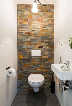 Dreamy wc toilet in bathroom ideas for you waaaw 26 - Vario Wall Small Toilet Room, Guest Toilet, Downstairs Toilet, Modern Bathroom Decor, Bathroom Design Small, Bathroom Interior Design, Bathroom Ideas, Cloakroom Ideas, Wc Design