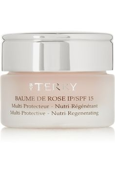 """Baume De Rose Lip Protectant   By Terry """"bursting with nourishing ingredients and glossy without being sticky...signature formula is enriched with softening Rose Flower Essential Wax and healing Shea Butter, simply dab it on to instantly soothe and plump your lips. """""""