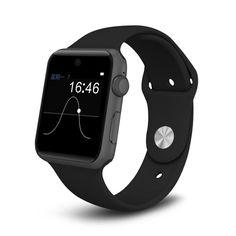 Android Bluetooth Smart Uhr HD Screen Unterstützung SIM Karte Tragbare Geräte SmartWatch für IOS DM09 PK Smartwatch dm09 gt08 dz09 //Price: $US $62.05 & FREE Shipping //     #meinesmartuhrende