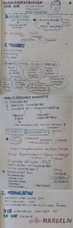 """Hands on Industrie 4.0 Sketchnote des Beitrages von Dr. Schirmer """"Herausforderungen für HR"""""""