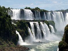 Iguazu - große Wasser