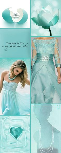 18 Ideas For Wedding Colors Blue Tiffany Colour Azul Tiffany, Tiffany Blue, Colour Pallete, Color Combinations, Color Collage, Mood Colors, Color Me Beautiful, Fashion Colours, Pantone Color
