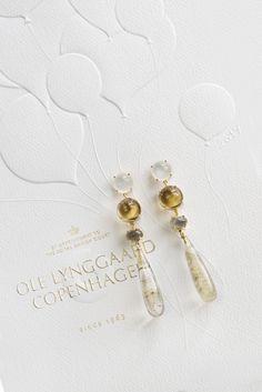 Lotus earrings by OLE LYNGGAARD COPENHAGEN www.olelynggaard.com @olelynggaardcopenhagen