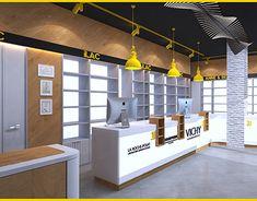 my pharmacy design Shop Interior Design, Store Design, Logo Food, Shelf Design, Kiosk, New Shop, Pharmacy, Showroom, Promotion