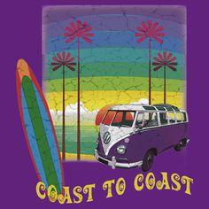 Camper Van Retro Summer T-shirt