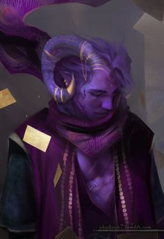 "shalizeh7: ""Mollymauk from the new Critical Role campaign. I love the new characters :) "" goddammit SHALI!!"