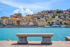Stunning Porto Santo Stefano wall mural from Wallsauce. This high quality Porto Santo Stefano wallpaper is custom made to your dimensions. Easy to order and install plus FREE UK delivery within 2 to 4 working days. Metal Walls, Metal Wall Art, Italy Tourism, Us Destinations, Holiday Destinations, Chicano, Seaside, Design Art, Santos