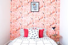 What's more fun than a wall of wallpaper? A wall of really crazy, incredibly unique wallpaper. These homeowners took a bit of a risk with some very bold patterns — with some very exciting results.