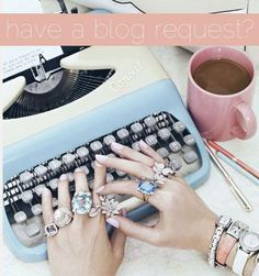 Have a Blog Request? Tell Me! {comment below or click the photo and leave a comment there}