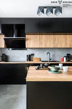 Kitchen Under Stairs, Loft Kitchen, Kitchen Room Design, Wooden Kitchen, New Kitchen, Kitchen Decor, Kitchen Cabinets Pictures, Kitchen Cupboards, Modern Kitchen Interiors