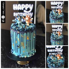 Sharing Sunday 🤗 Shared by the customer of what became of figurines custom made for their cake 😍 ~ Baby Birthday Themes, Birthday Board, Dog Birthday, It's Your Birthday, Birthday Ideas, Birthday Parties, Birthday Cake, Cupcake Cakes, Cupcakes