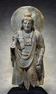 Bodhisattva Maitreya Kushan period, 2nd-3rd c CE