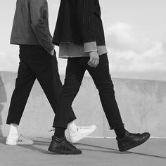 """""""#mens #fashion #style #shoes #sneakers #LN #LN4 #lark #noble #larknoble…"""