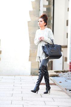 fringe, grey and black FashionHippieLoves waysify