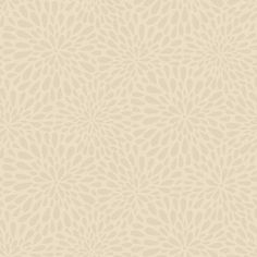 "Simple Space II Calendula 33' x 20.5"" Floral 3D Embossed Wallpaper"